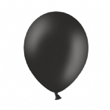 "Belbal 9"" Black Latex Balloons 100pcs"